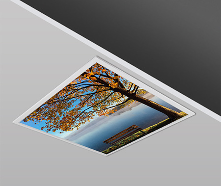 40W 60x60cm Slim AUTUMN Dizayn Backlight Panel Armatürü PANA