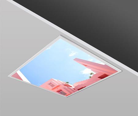 40W 60x60 Slim BEASTY Design Backlight Panel Luminaires PANA