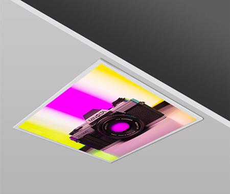 40W 60x60 Slim FOTO Design Backlight Panel Luminaires PANA
