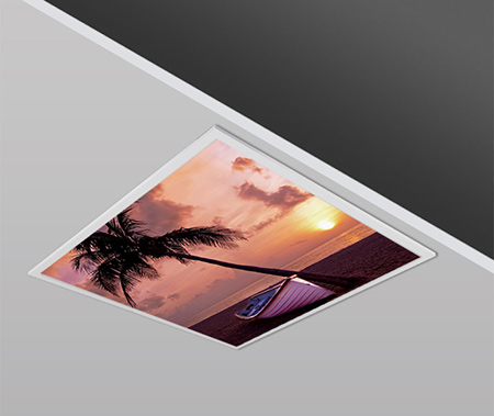 40W 60x60cm Slim SEASIDE Dizayn Backlight Panel Armatürü PANA