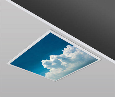 40W 60x60 Slim SKY 2 Design Backlight Panel Luminaires PANA