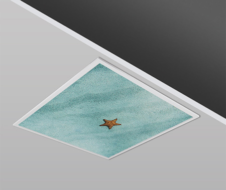 40W 60x60cm Slim STARFISH Dizayn Backlight Panel Armatürü PANA
