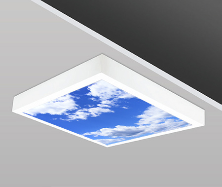 40W 60x60cm Sıva Üstü Slim SKY Dizayn Backlight Panel Armatürü PANA